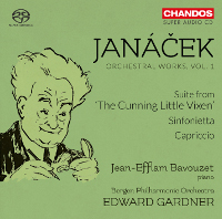 Janacek: Sinfonietta, Capriccio, Suite from 'The Cunning Little Vixen' - Bavouzet / Gardner