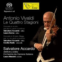 Vivaldi: The Four Seasons - Accardo
