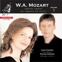 Mozart: Complete sonatas for keyboard and violin Vol. 1 - Cooper/Podger