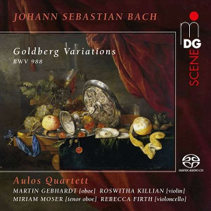 Bach: Goldberg Variations - Aulos Quartet
