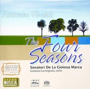 Vivaldi: The Four Seasons - Carmignola