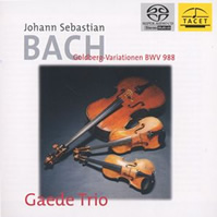 Bach: Goldberg Variations - Gaede Trio