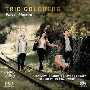 Paris-Moscou - Trio Goldberg