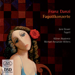 Forgotten Treasures, Vol 02: Danzi: Bassoon Concertos - Gower / Willens