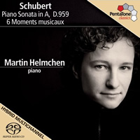 Schubert: Piano Sonata in A, Moments musicaux - Helmchen