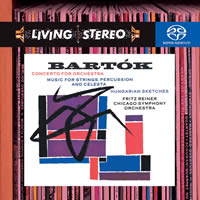 Bartok: Concerto for Orchestra, Music for Strings, Percussion & Celesta - Reiner